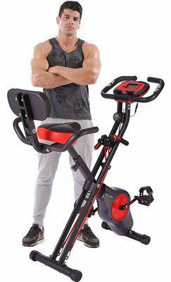 Pleny Folding Fitness Exercise Bike