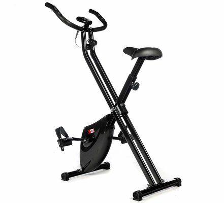 XS Sports Magnetic Foldable Folding Exercise Bike