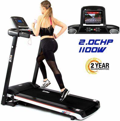BTM A7 Motorised electric treadmill