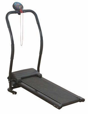 Bodyfit Compact Electric Treadmill