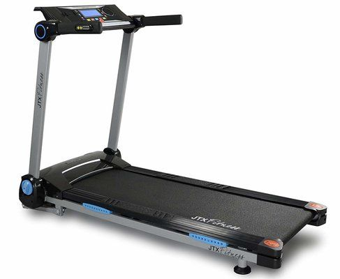 JTX Slim Line Flat Foldable Running Machine