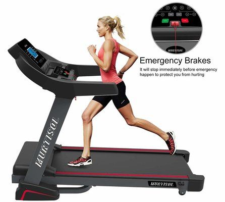 Murtisol Bluetooth Folding Treadmill